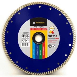 Алмазный диск Baumesser Turbo Stahlbeton PRO