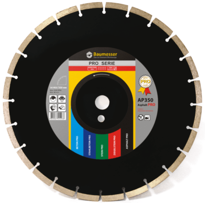 Алмазный сегментный диск Baumesser Asphalt Pro