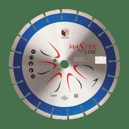 Алмазный сегментный диск железобетон Master Line