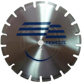 Алмазный сегментный диск ZENESIS асфальт