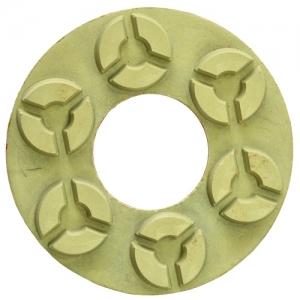 Алмазный гибкий шлифовальный круг С6 №4 (АГШК С6 №4) по граниту