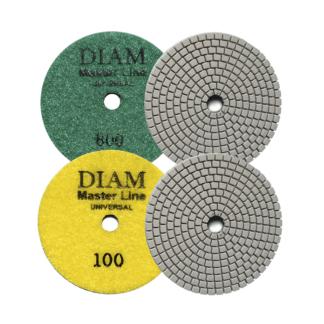 Алмазные гибкие шлифовальные круги DIAM MasterLine Universal(мокрая/сухая)