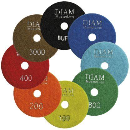 Алмазные гибкие шлифовальные круги DIAM MasterLine Wet(мокрая)