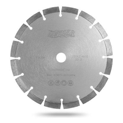Алмазный сегментный диск 230 MESSER FBM