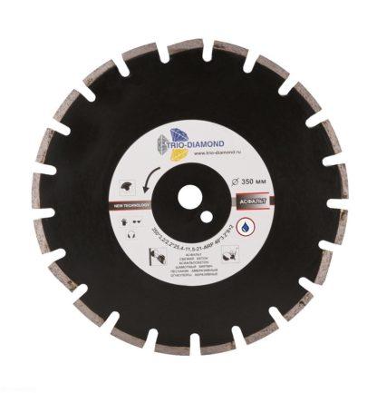 Алмазный сегментный диск 350-10-25.4 Grand Asphalt GA773