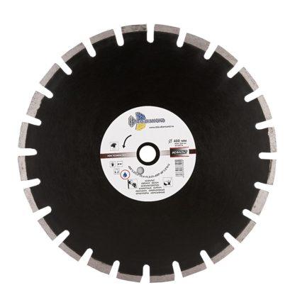 Алмазный сегментный диск 400-10-25.4 Grand Asphalt GA774