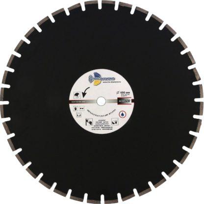 Алмазный сегментный диск 600-10-25.4 Grand Asphalt GA777
