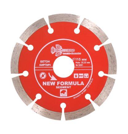 115 алмазный сегментный диск New Formula Segment S201