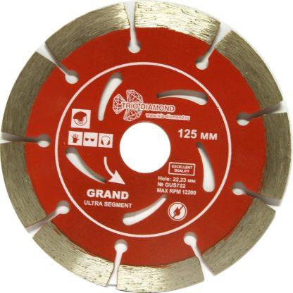 125 Алмазный отрезной диск Grand Ultra Segment GUS722