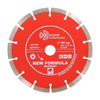 180 алмазный сегментный диск New Formula Segment S204
