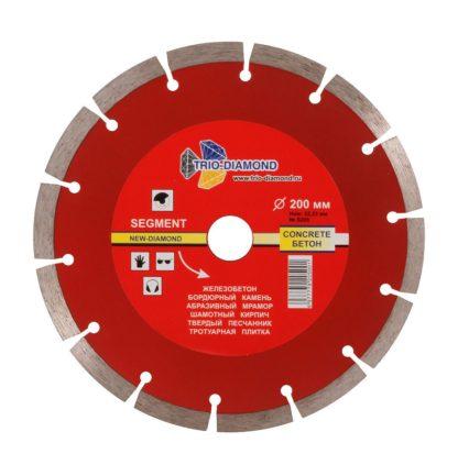 200 алмазный сегментный диск New Formula Segment S205