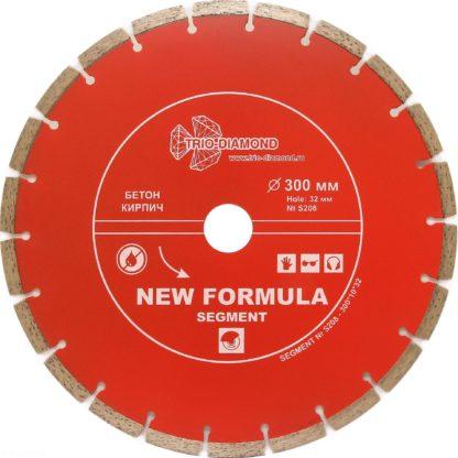 300 алмазный сегментный диск New Formula Segment S208