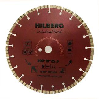 300 алмазный турбо-сегментный диск Hilberg Industrial Hard Laser HI807