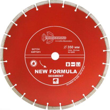 350 алмазный сегментный диск New Formula Segment S209