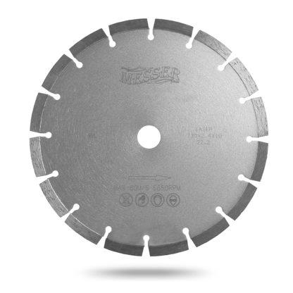 450 алмазный сегментный диск MESSER B/L бетон