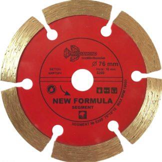 76 алмазный сегментный диск New Formula Segment для Мини УШМ S200