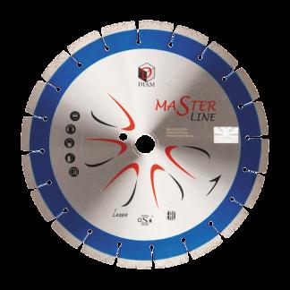 Алмазный сегментный диск DIAM железобетон Master Line 400x3,0x10x25,4