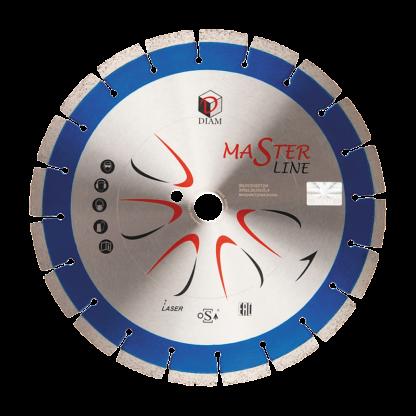 Алмазный сегментный диск DIAM железобетон Master Line 450x3,4x10x25,4