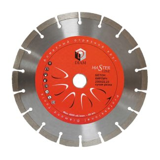 Сегментный алмазный круг DIAM Бетон Master Line 150