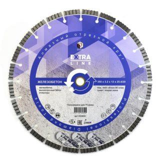 400 Сегментный-алмазный-круг-DIAM-ЖЕЛЕЗОБЕТОН-Extra-Line