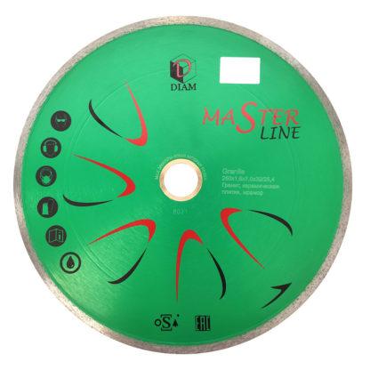 Алмазный отрезной круг DIAM GRANITE Master Line 180