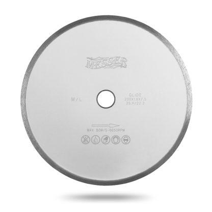 Алмазный сплошной диск MESSER ML 250 мрамор