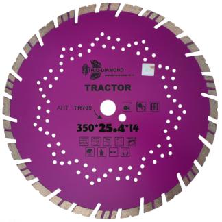 Диск алмазный отрезной 350 серия Tractor TR709